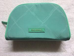 Vera Bradley Mint Preppy Poly Small - Cosmetic Case