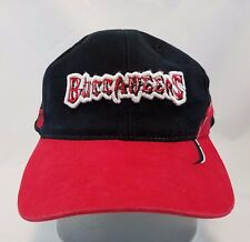 Tampa Bay Bucaneers Cap Adjustable Strapback Hat Flames NFL Logo Football
