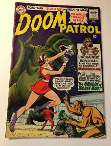 Doom Patrol #100 Origin of Beast Boy DC Comics 1965