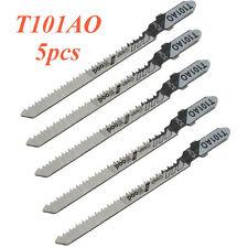 5Pcs/Set HCS Jigsaw Blades Clean Cut for Wood T101AO for Bosch Dewalt Makita Acc