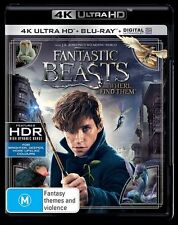 Fantastic Beasts : NEW (4K Ultra HD - UHD) Blu-Ray
