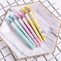 3pcs Stationery 0.38mm Tip Blue Eraser Ink Erasable Gel Pen