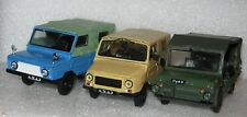 1/43 LuAZ 967 M  Soviet militay 4 WD car model Die cast IXO & 30 magazine DeA