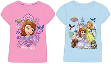 New Girls Sofia The First, Disney Princess T-Shirt, Size 18 Months to 5 Years