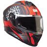 Casco Integrale Demi-Jet Full Face CGM 301S MOTEGI Per Moto E Scooter Omologato