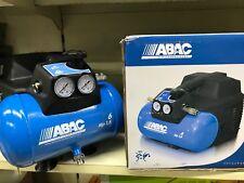 ABAC COMPRESSORE ARIA PORTATILE OIL LESS 6  LITRI 8 BAR 1,5 HP 180 LT MIN