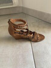 sandales compensées camel ASH taille 37