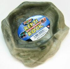"""Zoo Med Repti Rock - Reptile Water Dish Small (5.5"""" Long x 5"""" Wide) Wd-20"""