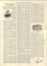1893 CB Harnais Medical Battery Company Health Treatment