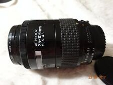 Nikon 35-105mm f/3.5-4.5 D AF IF Lens with filter and front cap