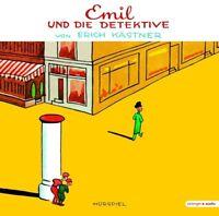 ERICH KÄSTNER - EMIL UND DIE DETEKTIVE-VINYL  VINYL LP + CD NEU