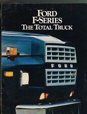 1984 Ford F-600/700/800 TRUCK Brochure : F600,F700,F800,Dump,Box,Stake,7000,8000