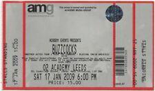 Buzzcocks & The Lurkers 02 Academy, Leeds 17/1/09 Ticket