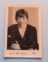1932 Anna May Wong Monopol Cigarette Tobacco Card #159 Film Movie Star Actress