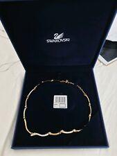 Swarovski original Collier Halskette Statement Necklace  Gold