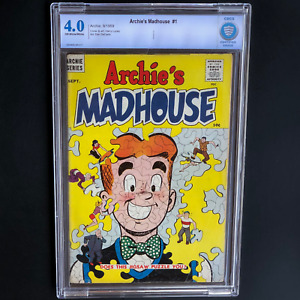 ARCHIE'S MADHOUSE #1 (1959) 💥 CBCS 4.0 OW-W PGs 💥 RARE!