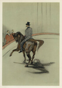 Toulouse-Lautrec Circus lithograph printed by Mourlot 765898303