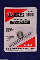 Lee Case Length Gauge & Shell Holder 300 Weatherby Magnum #90143