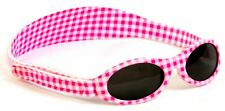 Baby Banz Adventure Pink Check Sunglasses (baby 0-2 Years)