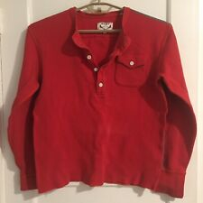 Gant Michael Bastian Sz L Thermal Polo L/S Winter 2011 Patch Pocket Embroidered