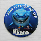 DCL 2003 Disney Cruise Line FINDING NEMO PREMIERE BUTTON Bruce Shark Marlin Dory