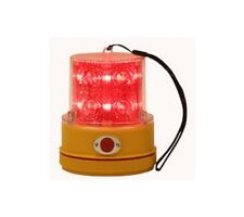 Magnetic Battery Operated Led Beacon Red, SL475R