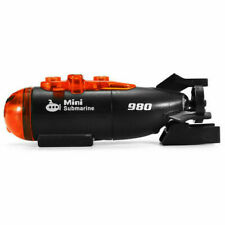 Mini Micro-Radio Remote Control RC Submarine Ship Boat With Led Light Toy G S150
