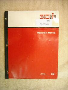 Case IH # 241 Big Roll Baler Operators manual