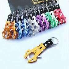 Tiger Hook Lock Clip Hiking Climbing Tool Keyring Keychain Ring
