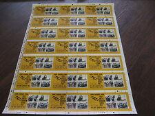 PRESS SHEET 2011 AERIAL POST MINIATURE SHEET  UNCUT ROYAL MAIL SG MS3220 MNH