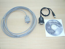 Skywatcher 5m PC serial cable Synta / Synscan & USB Adapter Win 10 Support