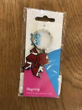 London Olympics 2012 Keyring Wenlock Mandeville Paralympics BNIB