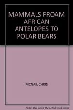 Mammals Froam African Antelopes To Polar Bears