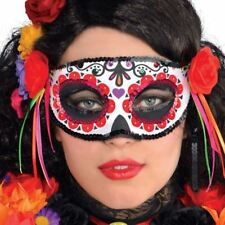 Giorno dei morti FASHION Maschera Halloween Costume Sugar Skull Accessorio