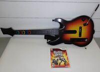 Nintendo Wii Guitar Hero World Tour & Guitar Hero III Legends Of Rock Guitar Kit