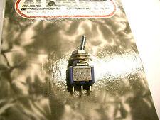 MINI SWITCH Allparts INTERRUTTORE ON-ON, 3 pin, cromo