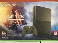 Console Microsoft Xbox One S 1TB 4K + Gioco Battlefield 1 Early Enlister Deluxe