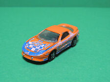 Majorette N°212 Pontiac Firebird - 1/63 voiture orange diecast car