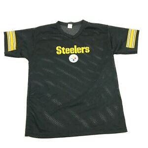 VINTAGE Franklin Pittsburgh Steelers Football Jersey Men Size Large Athletic Fit