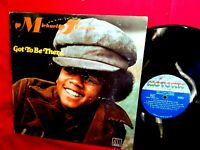 MICHAEL JACKSON Got to be there LP US 1972 VG Funk Soul