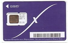 Belgique - SIM Card Proximus Belgacom 47 - 7900 - Only for Collection