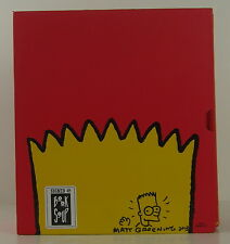 MATT GROENING Simpsons World SIGNED FIRST EDITION