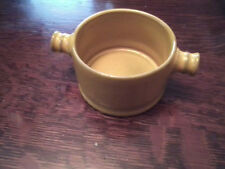 Yellow Ceramano Sugar or Condiment Bowl--Lead Free--1970's Modern Ceramics