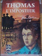 Jean Cocteau Thomas L'Imposteur