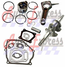 NEW FITS Honda GX160 5.5 hp PISTON AND RING CONNECTING ROD CRANKSHAFT 5.5 ENGINE