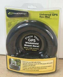 """Brackerton Universal GPS Nav-Mat - Mobile Dash Mount Hardware - Screens Up to 7"""""""