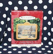 Hallmark Christmas Ornament Victorian Christmas Iii Thomas Kinkade Collectible