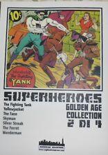 SUPERHEROES golden age collection 2 di 4  - cagliostro press - testo a fronte