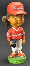 Campbell's Soup Kids Girl Baseball Player Bobble Head Nodder Campbell's Field