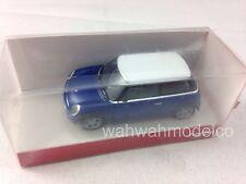 Herpa 033022 New Mini Cooper, metallic blue